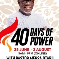 40 Days of Power 2021 T-Shirt coming soon
